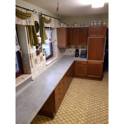 Neue Arbeitsplatte verleiht der Küche einen neuen Glanz